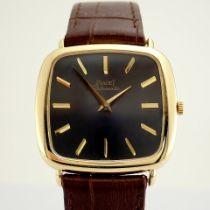 Piaget / 18K - Gentlemen's Yellow gold Wrist Watch