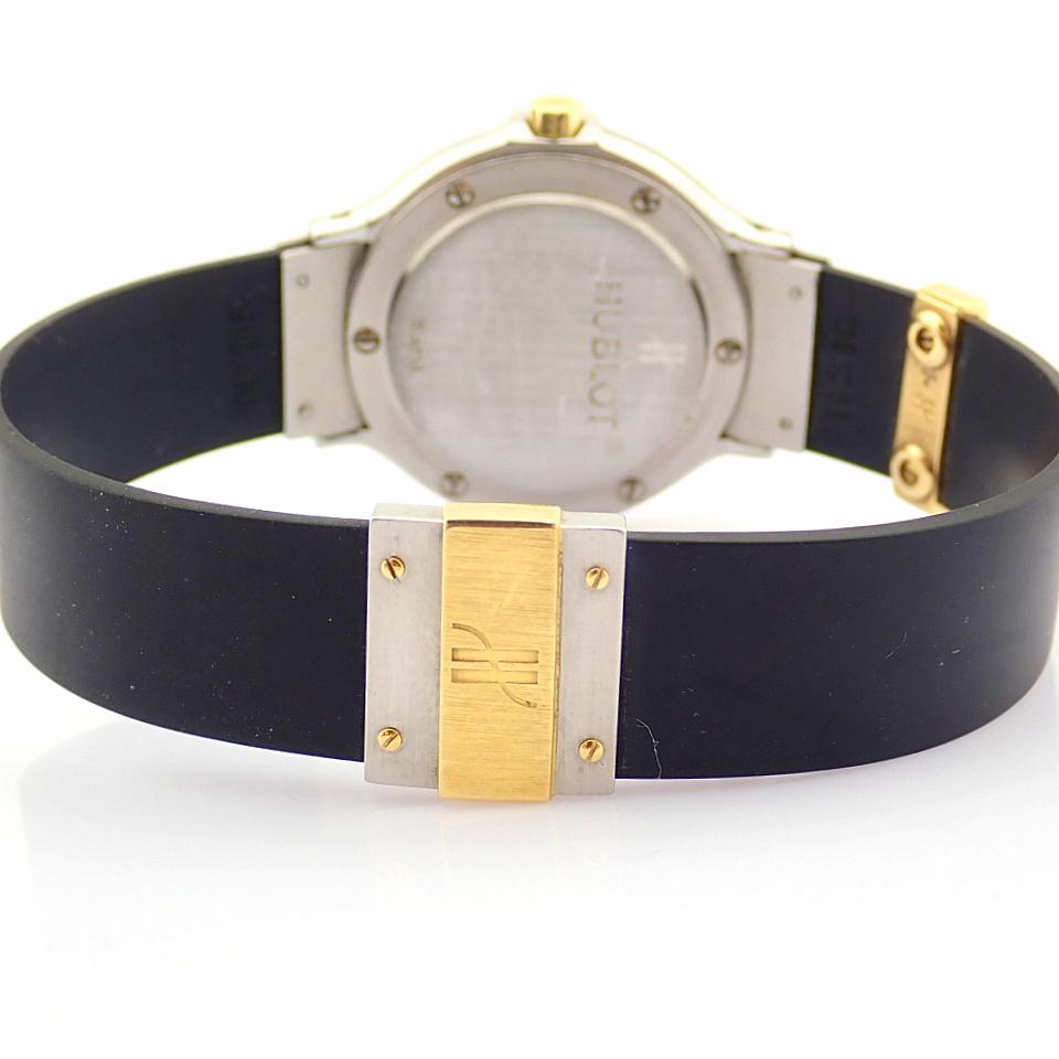 Hublot / MDM Diamond 18K Gold & Steel - Lady's Gold/Steel Wrist Watch - Image 3 of 17