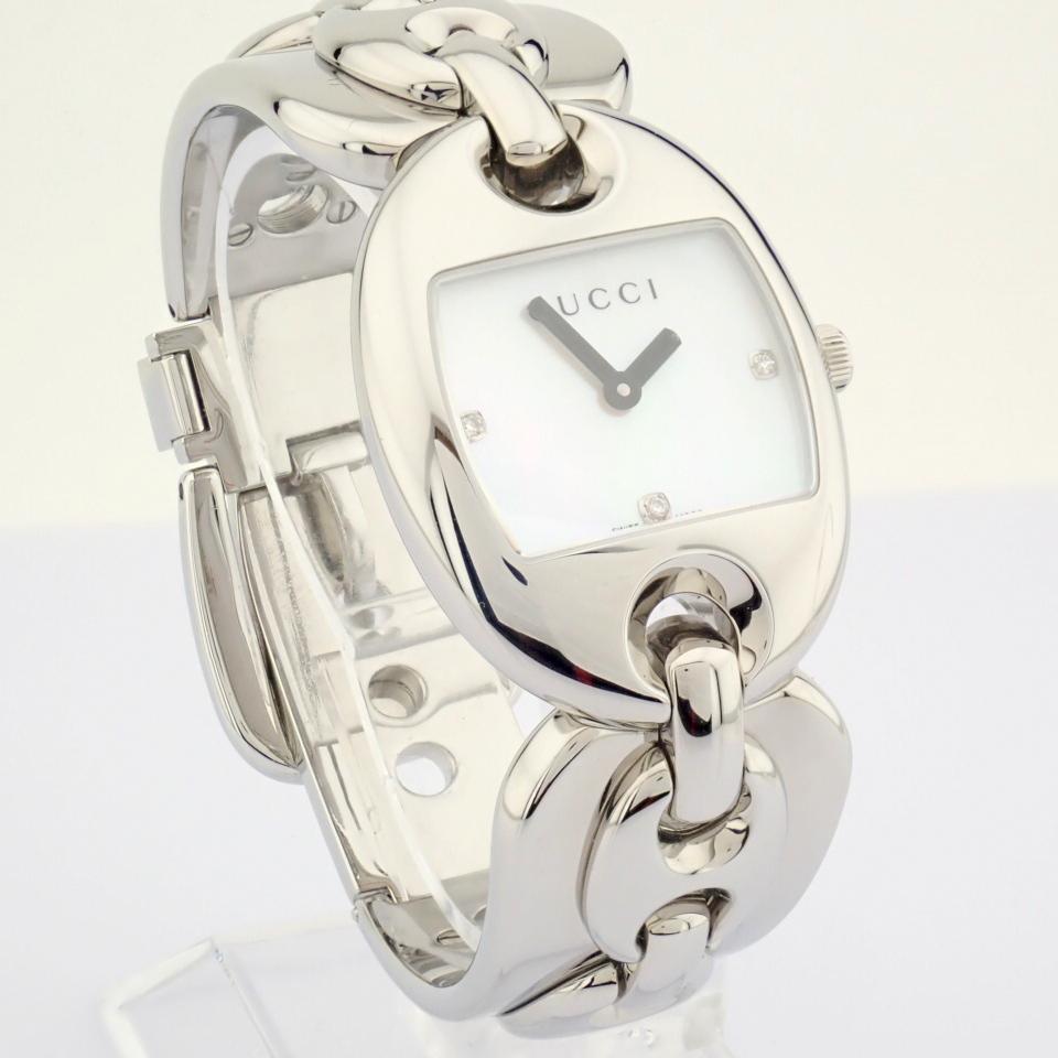 Gucci / 121.5 DIAMOND - Lady's Steel Wrist Watch - Image 2 of 12