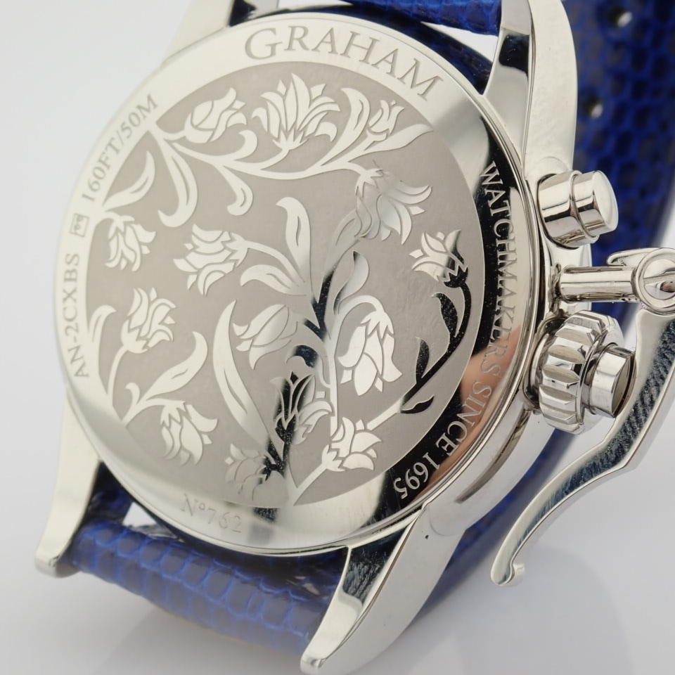 Graham / Chronofighter Lady Moon - Lady's Steel Wrist Watch - Image 3 of 15