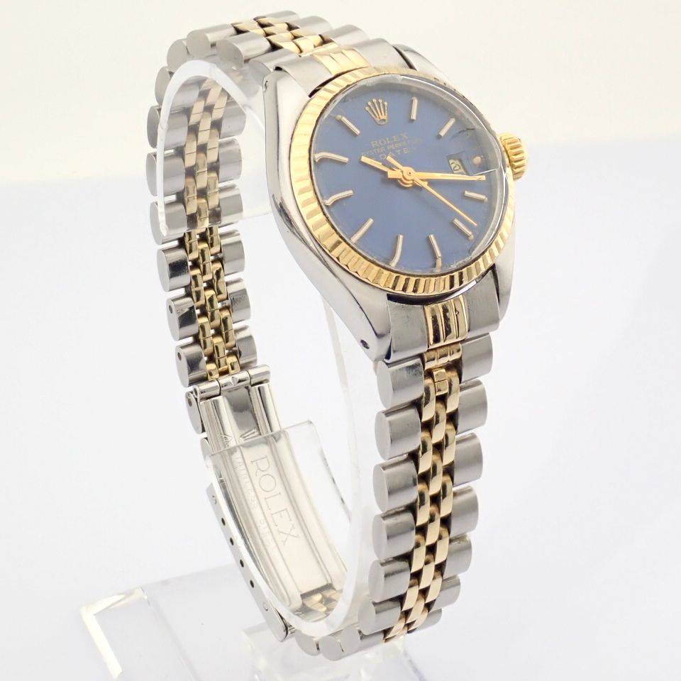 Rolex / Oyster Perpetual Date 6917 - Lady's Steel Wrist Watch - Image 4 of 13