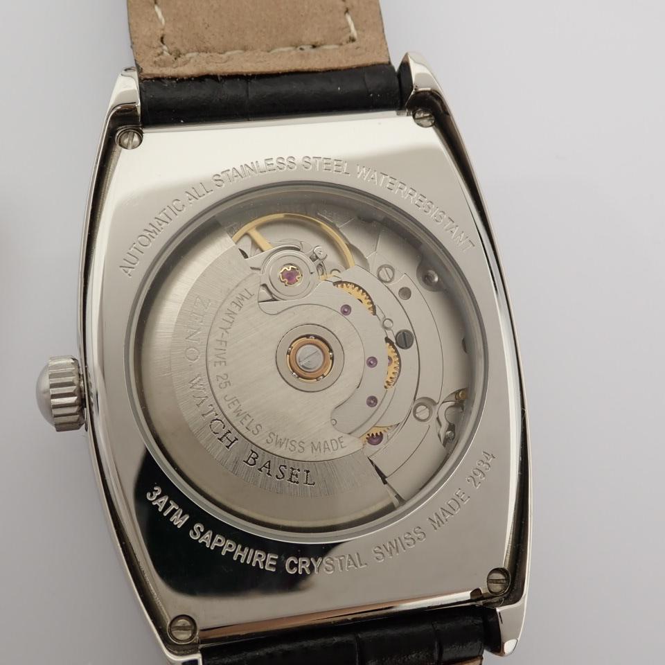 Zeno-Watch Basel / 2934 - Gentlemen's Steel Wrist Watch - Image 11 of 12