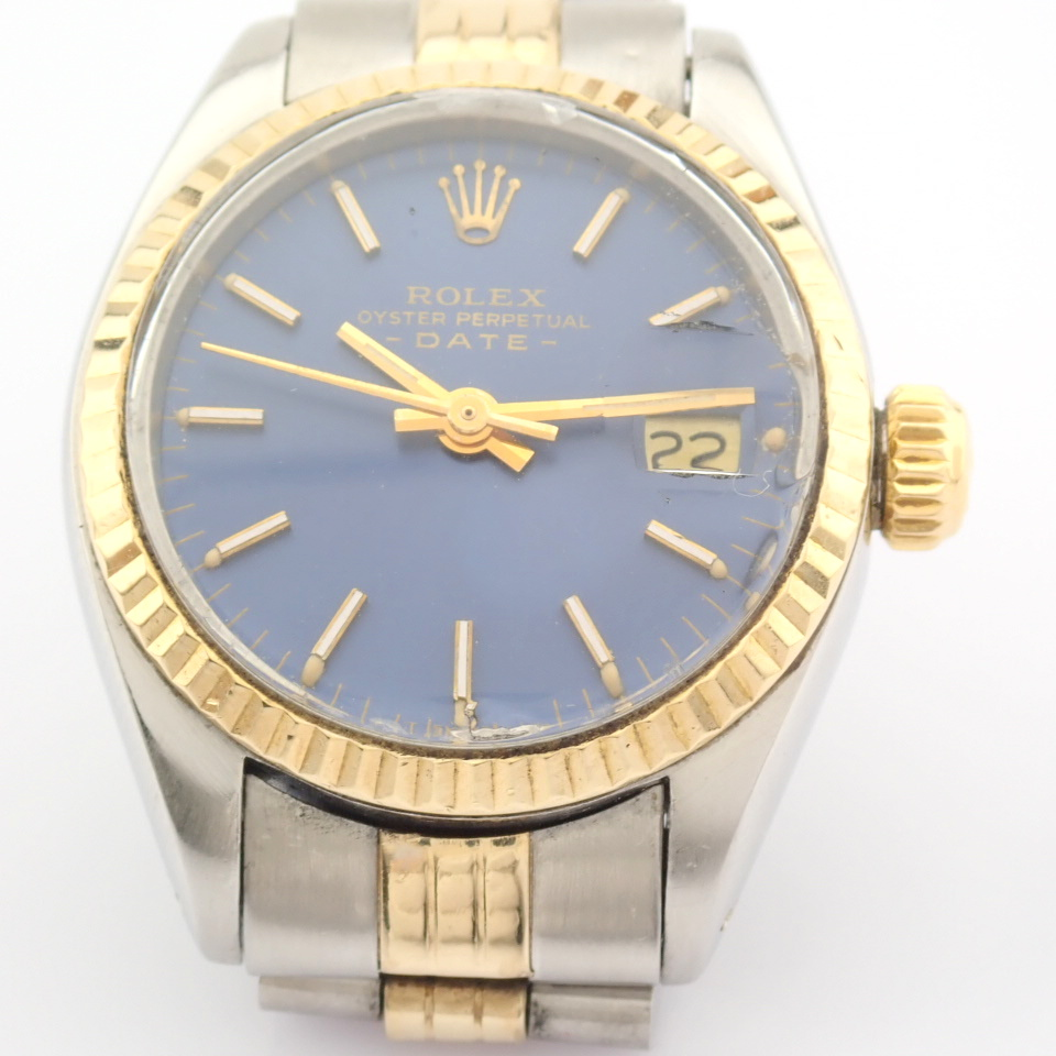 Rolex / Oyster Perpetual Date 6917 - Lady's Steel Wrist Watch - Image 10 of 13