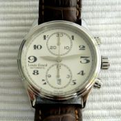 Louis Erard / Heritage Chrono - Gentlemen's Steel Wrist Watch