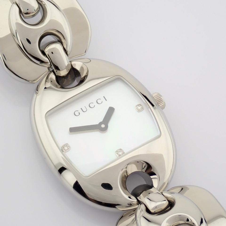 Gucci / 121.5 DIAMOND - Lady's Steel Wrist Watch - Image 8 of 12