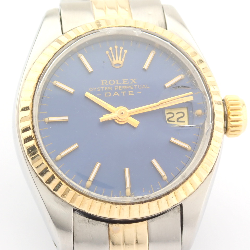 Rolex / Oyster Perpetual Date 6917 - Lady's Steel Wrist Watch - Image 9 of 13