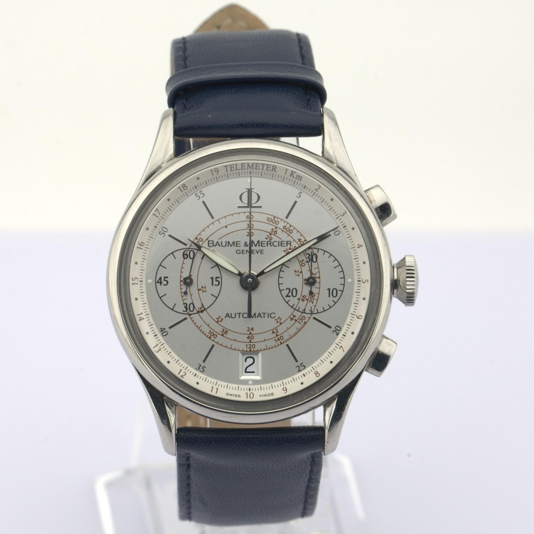 Baume & Mercier / 65542 - Gentlemen's Steel Wrist Watch - Image 3 of 10