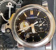 Graham / Chronofighter RAC Trigger - Gentlemen's Steel Wrist Watch