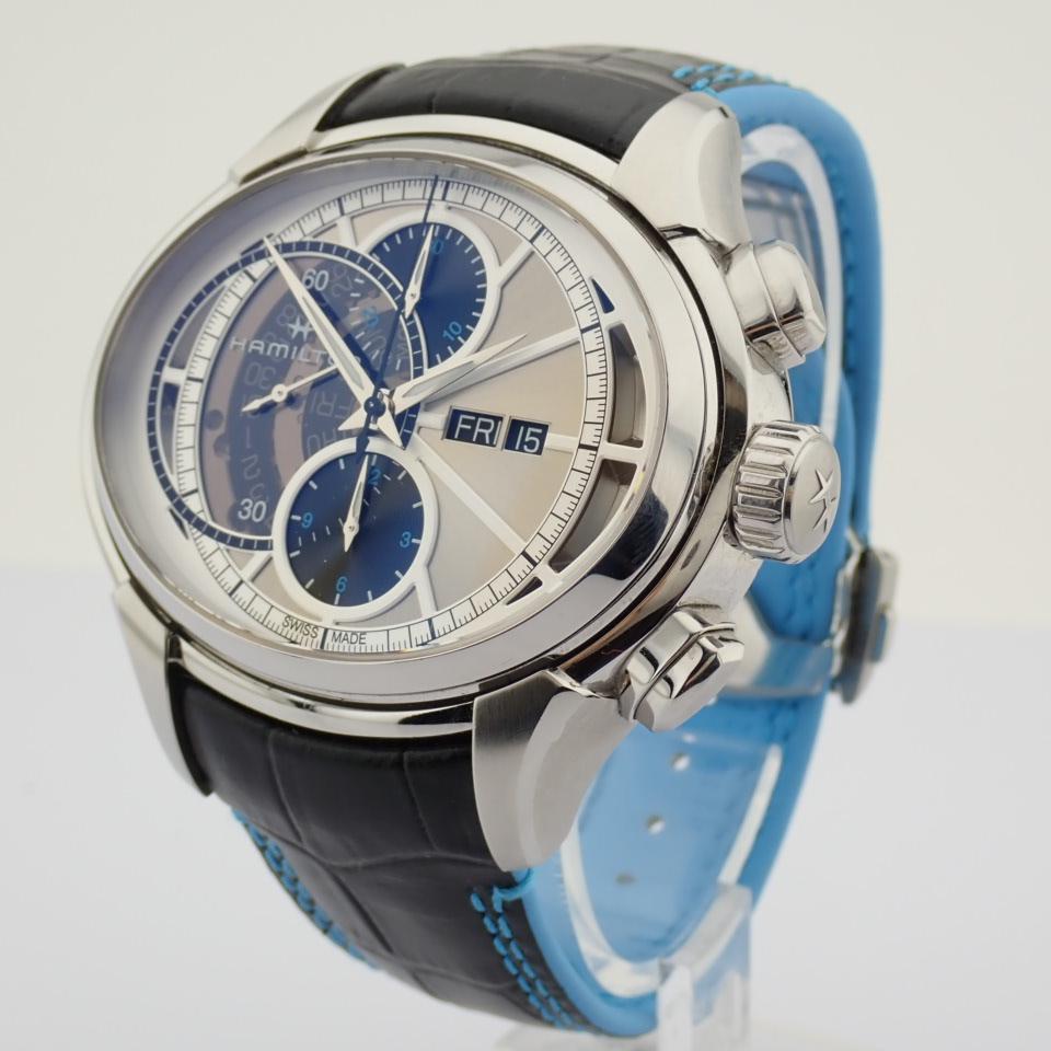 Hamilton / Jazzmaster Face2Face II - Gentlemen's Steel Wrist Watch - Image 2 of 13