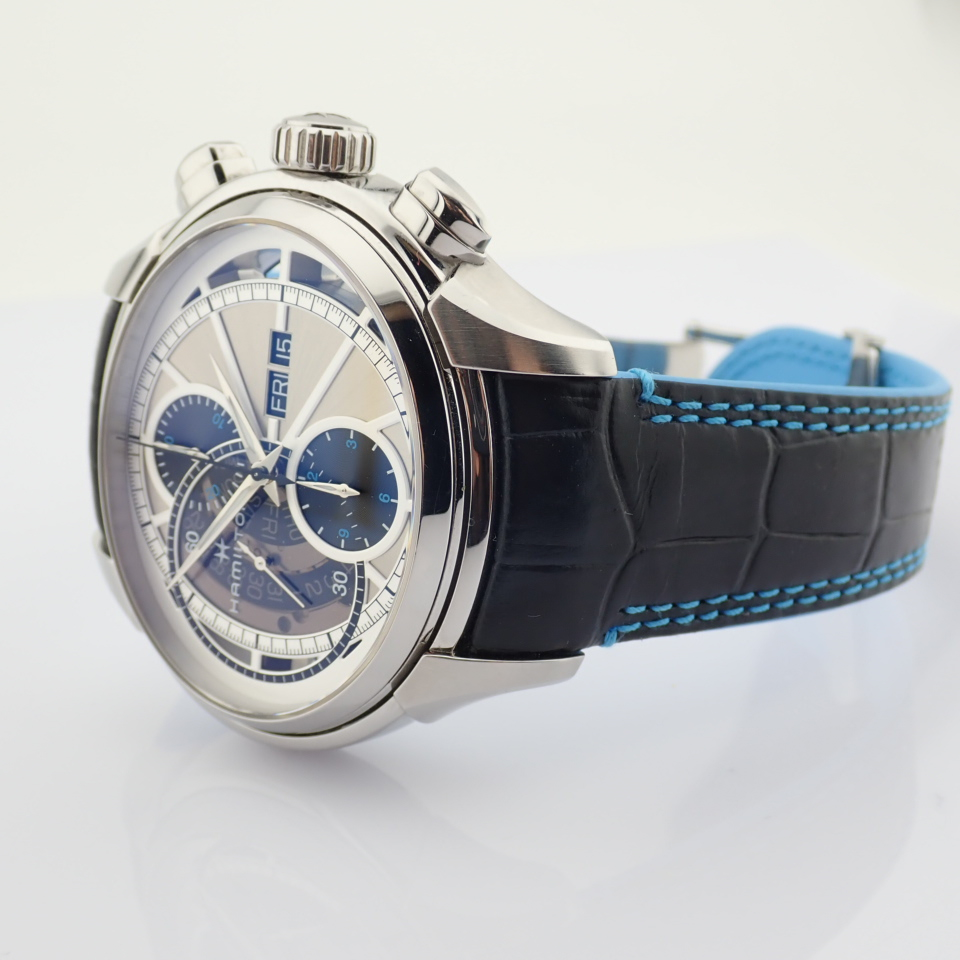 Hamilton / Jazzmaster Face2Face II - Gentlemen's Steel Wrist Watch - Image 8 of 13