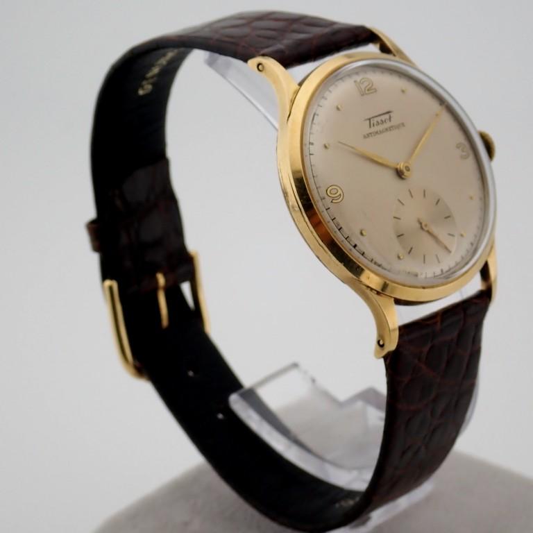 Tissot / Antimagnetique Classic 14K - Gentlemen's Yellow gold Wrist Watch - Image 10 of 12