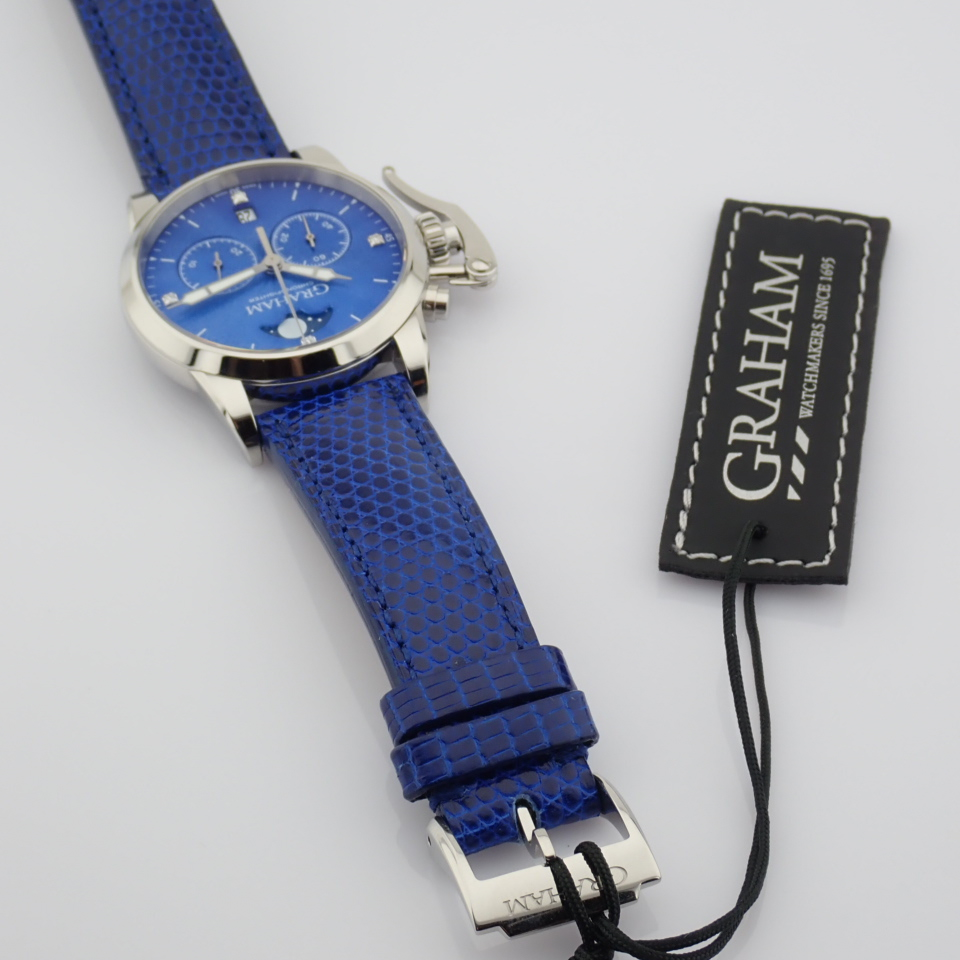 Graham / Chronofighter Lady Moon - Lady's Steel Wrist Watch - Image 9 of 15