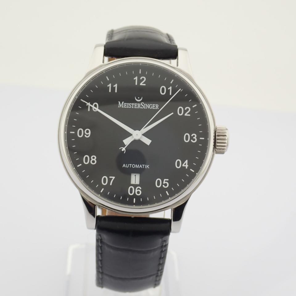 Meistersinger / Scrypto - Gentlemen's Steel Wrist Watch - Image 5 of 10