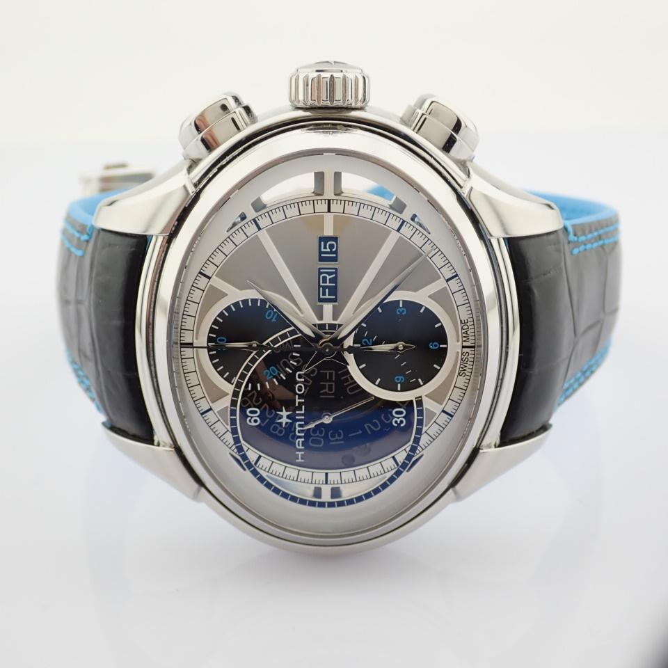 Hamilton / Jazzmaster Face2Face II - Gentlemen's Steel Wrist Watch - Image 7 of 13