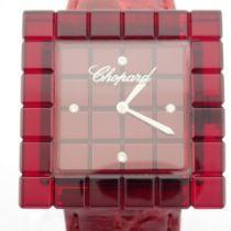 Chopard / Be Mad - 4 Diamond Dial - Lady's Plastic Wrist Watch