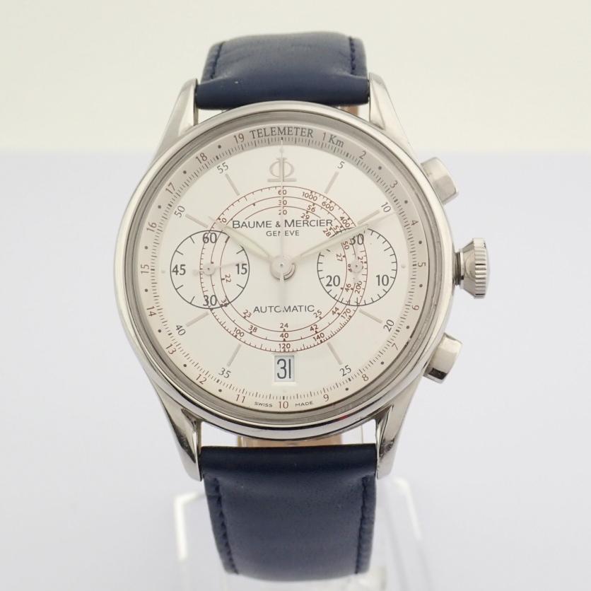 Baume & Mercier / 65542 - Gentlemen's Steel Wrist Watch - Image 2 of 10