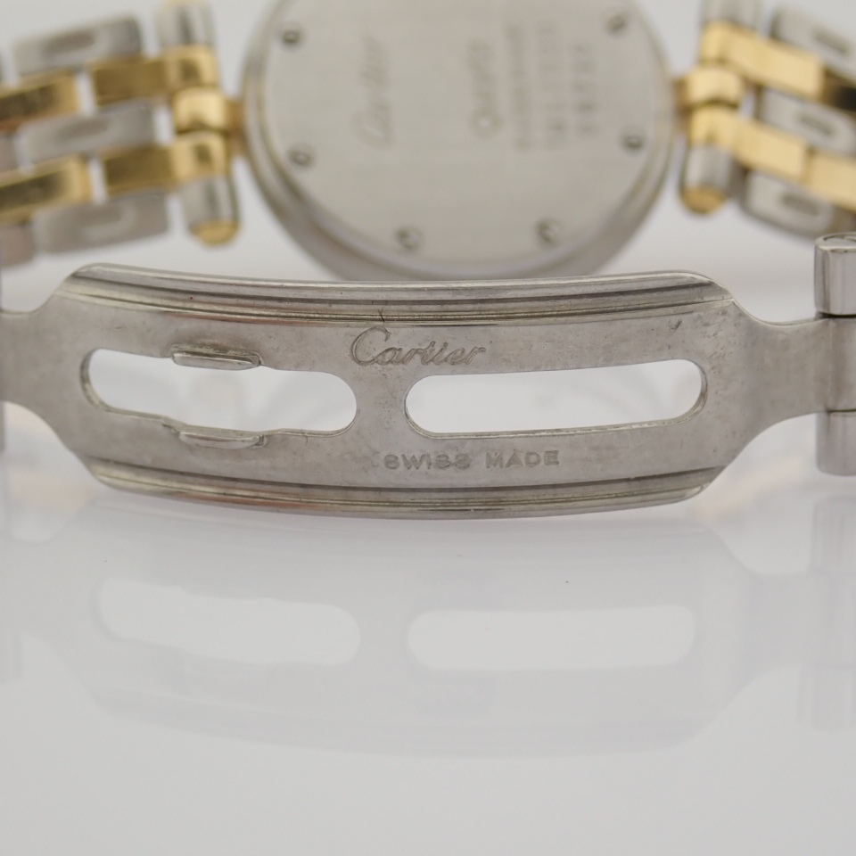 Cartier / Cartier Panthere Vendome 18K double row gold bracelet - Lady's Gold/Steel Wrist Watch - Image 7 of 10