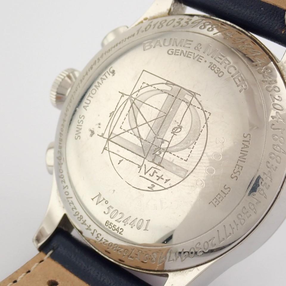 Baume & Mercier / 65542 - Gentlemen's Steel Wrist Watch - Image 6 of 10