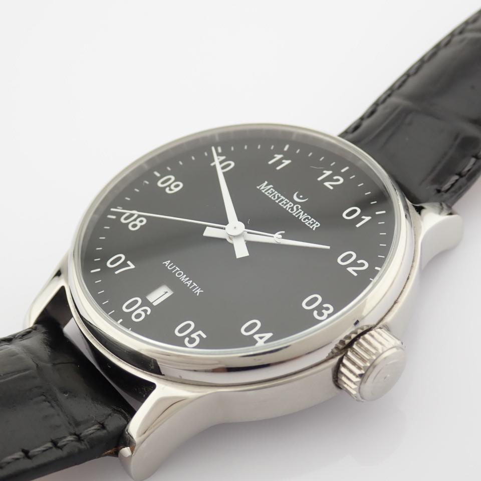 Meistersinger / Scrypto - Gentlemen's Steel Wrist Watch - Image 9 of 10