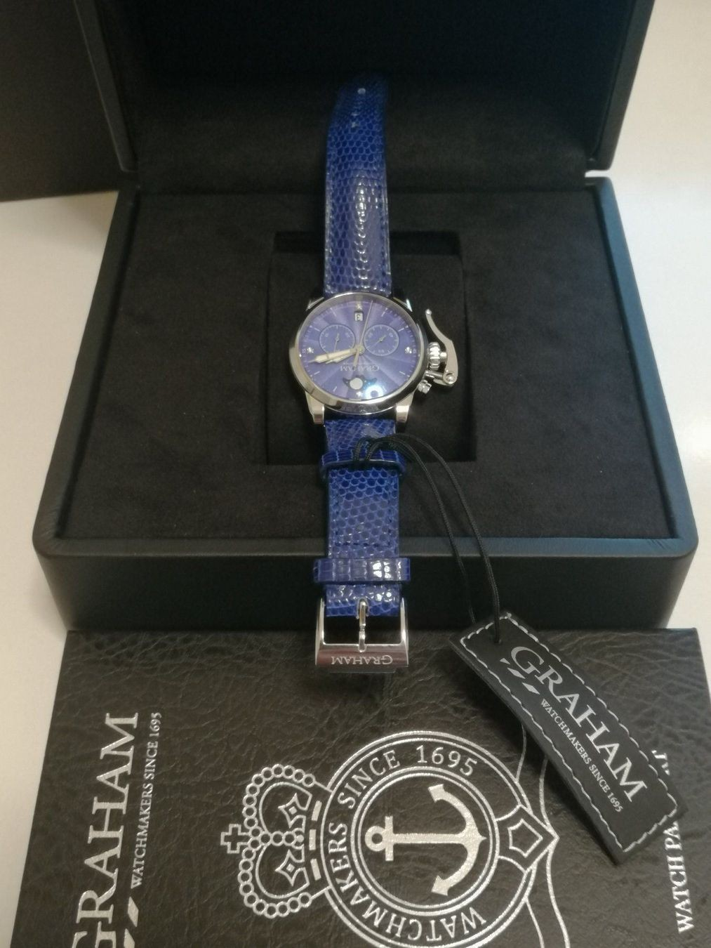 Graham / Chronofighter Lady Moon - Lady's Steel Wrist Watch - Image 5 of 15