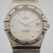 Omega / Constellation 28mm Mother of Pearl Dial - Lady's Steel Wrist Watch