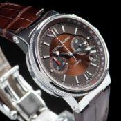 Ulysse Nardin / Marine Chronograph 353 66 - Gentlemen's Steel Wrist Watch