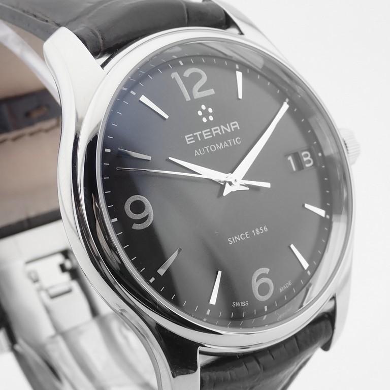 Edox / Date - Date World's Slimmest Calender Movement - Unisex Steel Wrist Watch - Image 8 of 8