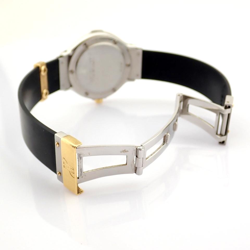 Hublot / MDM Diamond 18K Gold & Steel - Lady's Gold/Steel Wrist Watch - Image 7 of 17