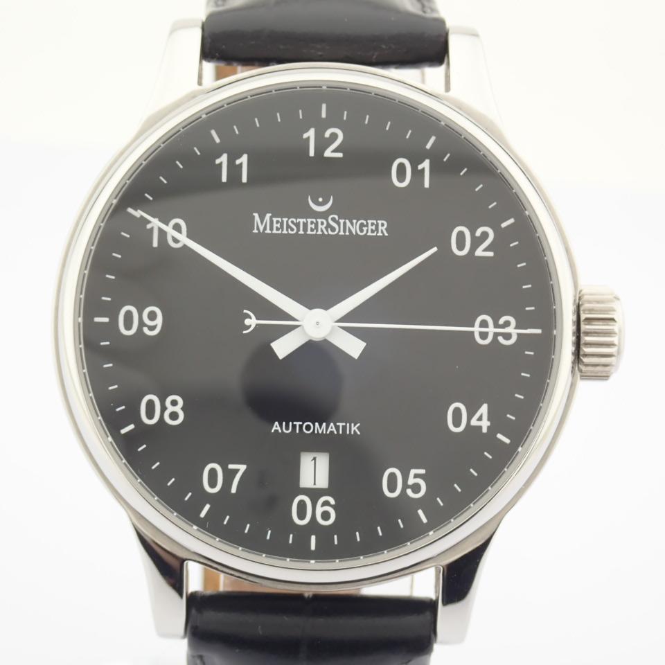 Meistersinger / Scrypto - Gentlemen's Steel Wrist Watch - Image 6 of 10