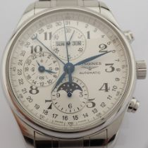 Longines / Master Collection L27734 - Gentlemen's Steel Wrist Watch