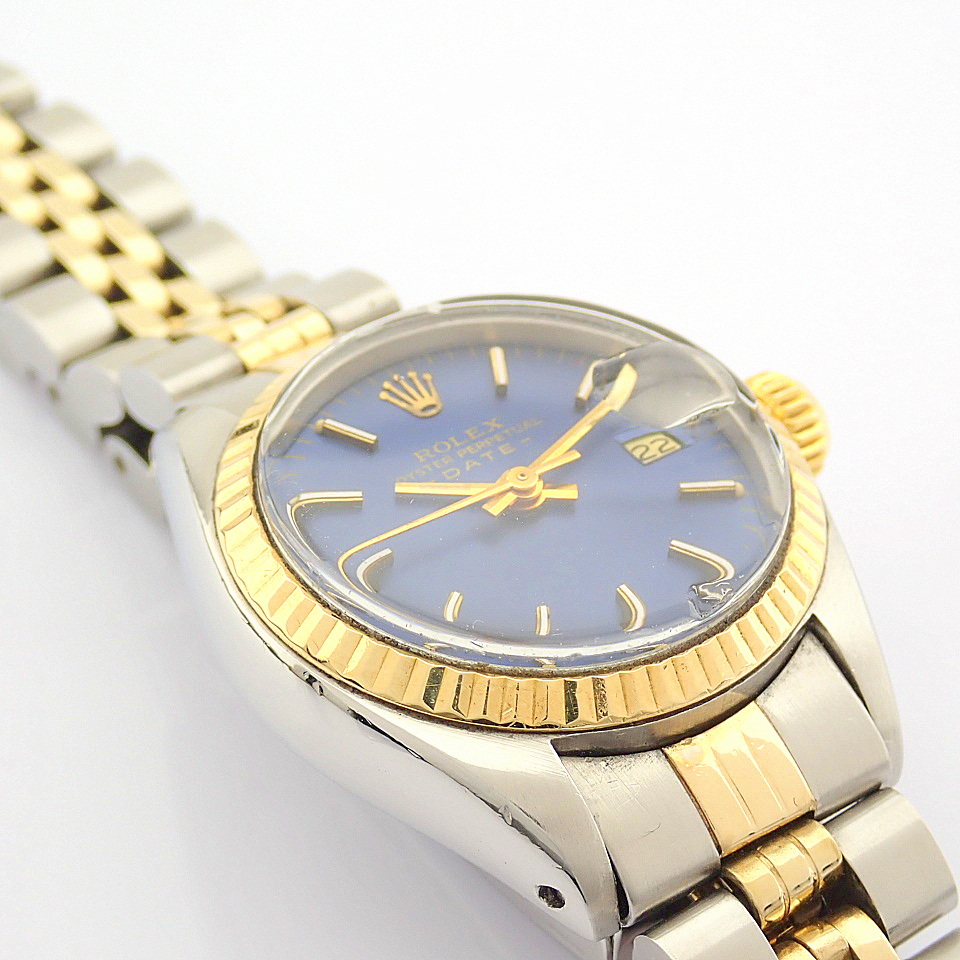Rolex / Oyster Perpetual Date 6917 - Lady's Steel Wrist Watch - Image 7 of 13