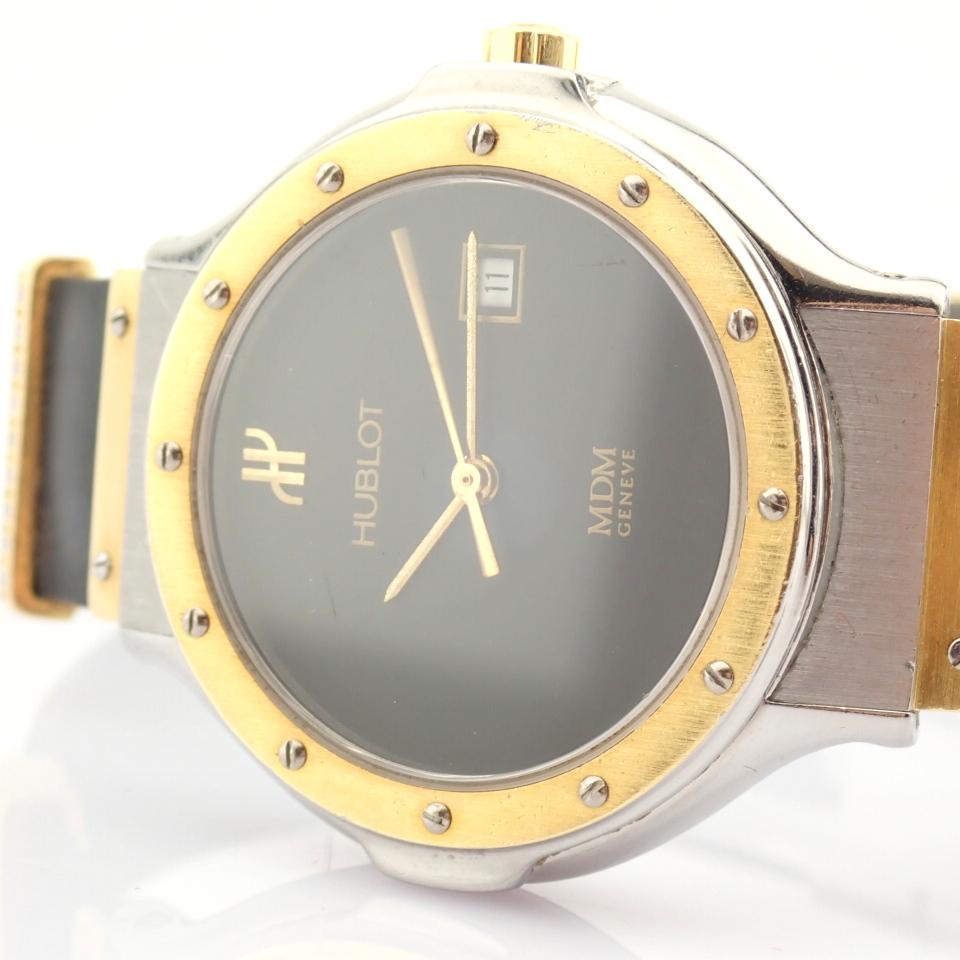 Hublot / MDM Diamond 18K Gold & Steel - Lady's Gold/Steel Wrist Watch - Image 8 of 17