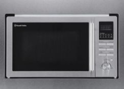 (R5O) 1x Russell Hobbs Built In Stainless Steel Digital Combination Microwave RHBM2503 (RRP £230)<br