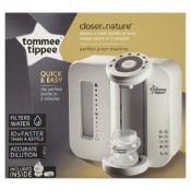 (R7I) 5x Tommee Tippee Closer To Nature Perfect Prep Machine.