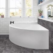 New (Sv74) Twyford's 1200x1200 mm Corner Bath. Panel Not Included. Supplied With A Acrylic Bath ...