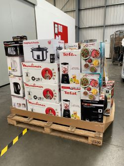 No Reserve - Pallet of Raw Customer Returns - Category - SMALL KITCHEN APPLIANCES - T040621001