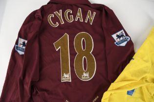 PASCAL CYGAN Arsenal No 18