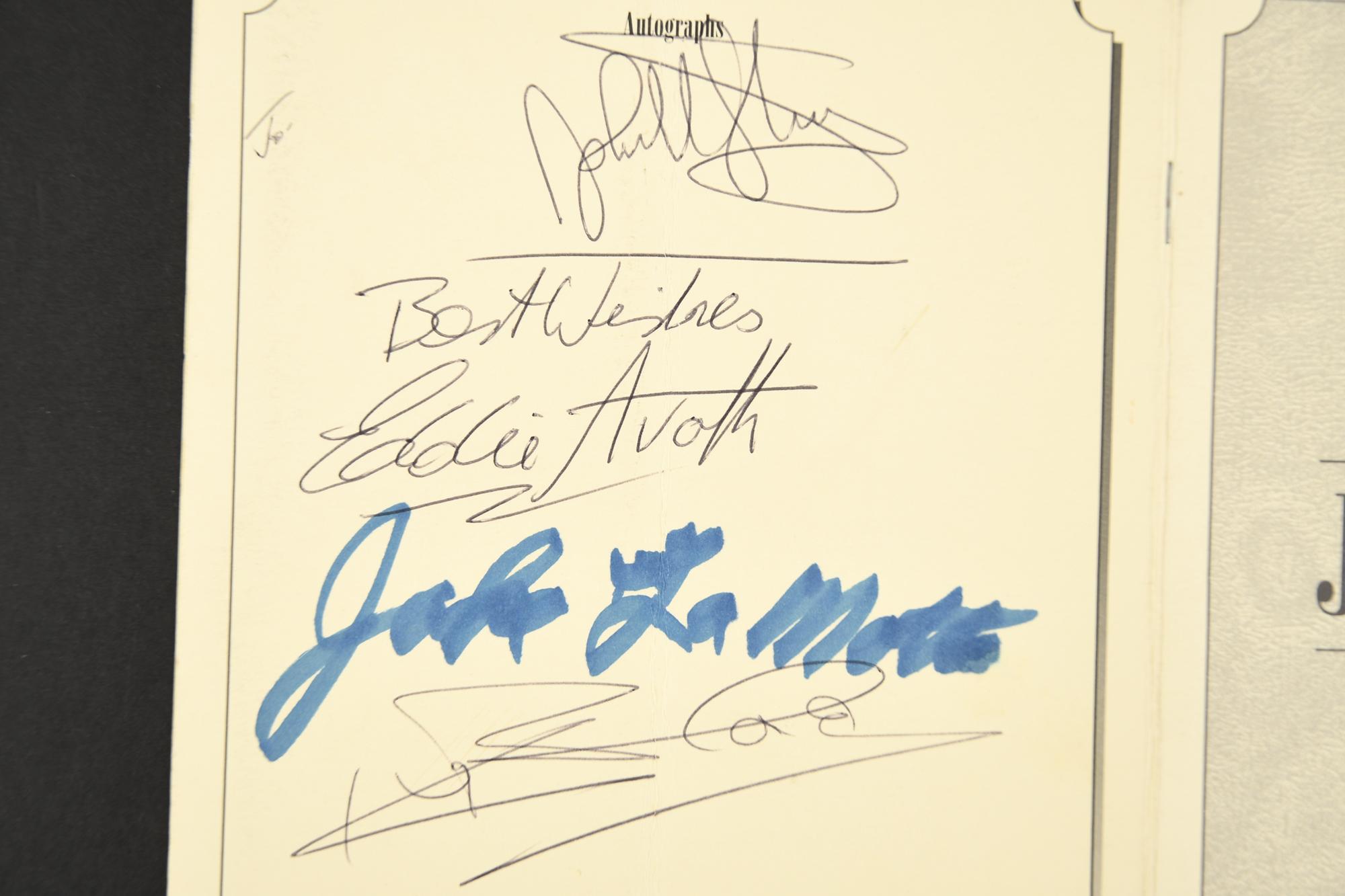 JAKE LA MOTTA Original signature - Image 2 of 3