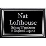 NAT LOFTHOUSE SIGNATURE PRESENTATION