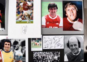 ARSENAL FC Original signatures