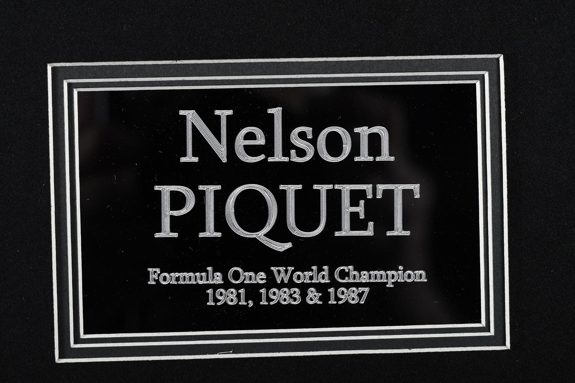 NELSON PIQUET SIGNATURE PRESENTATION - Image 4 of 4