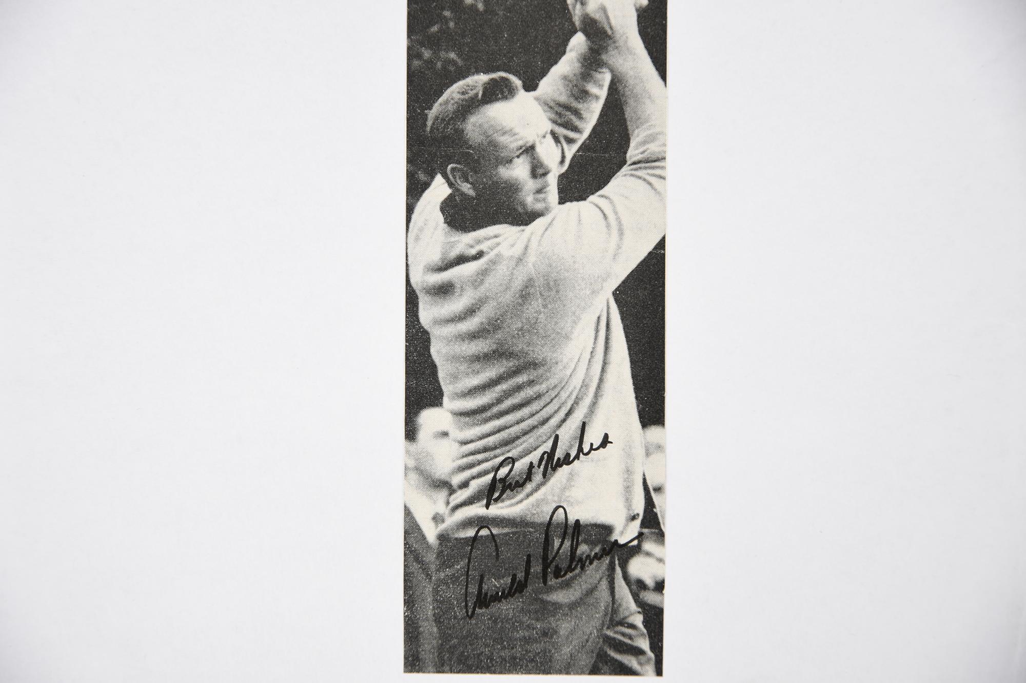JACK NICKLAUS, GARY PLAYER & ARNOLD PALMER Original signatures. - Image 4 of 4