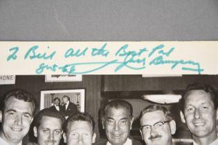 JACK DEMPSEY Original signature 1964.
