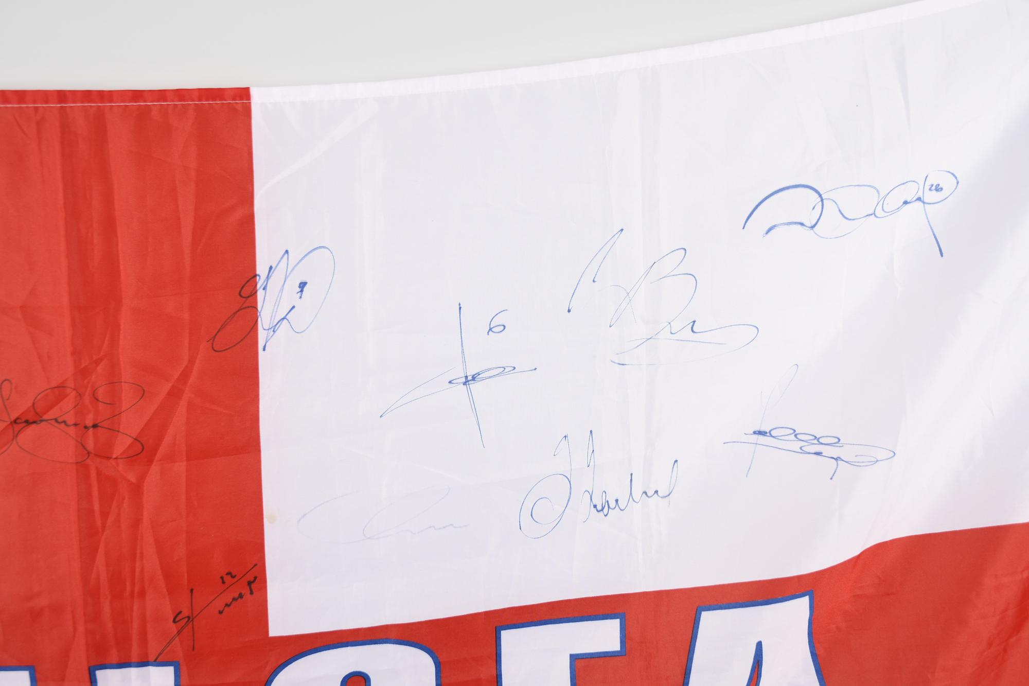 CHELSEA STARS & SIGNED FLAG Original Signature - Image 7 of 11