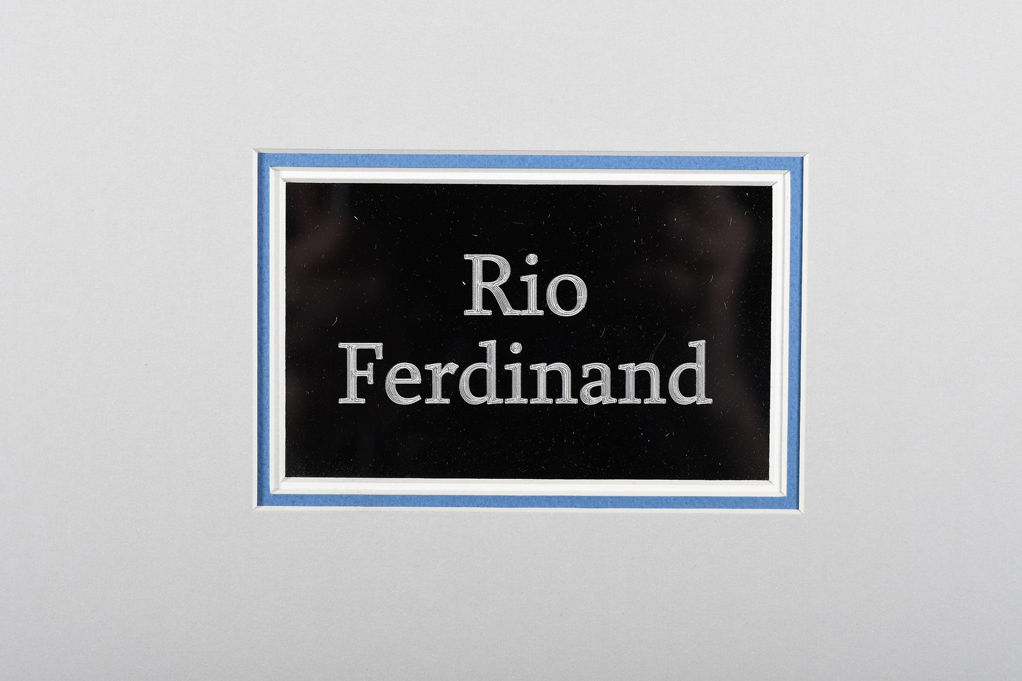 RIO FERDINAND SIGNATURE PRESENTATION