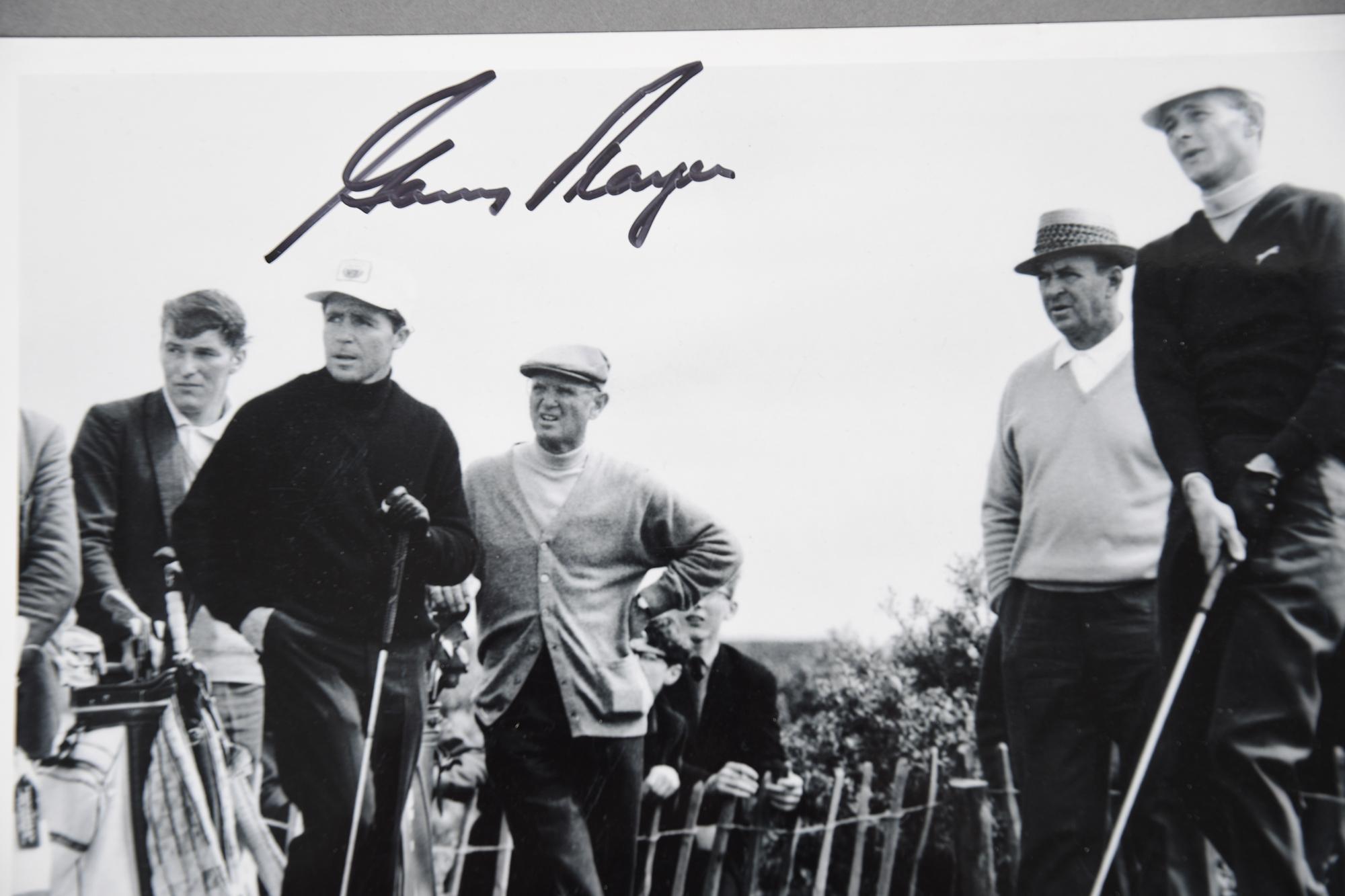 JACK NICKLAUS, GARY PLAYER & ARNOLD PALMER Original signatures. - Image 2 of 4