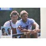 STEVE REDGRAVE & CHRIS HOY Original signatures