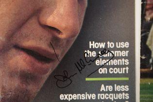 JOHN McENROE, JIMMY CONNORS & ARTHUR ASHE Original signatures.