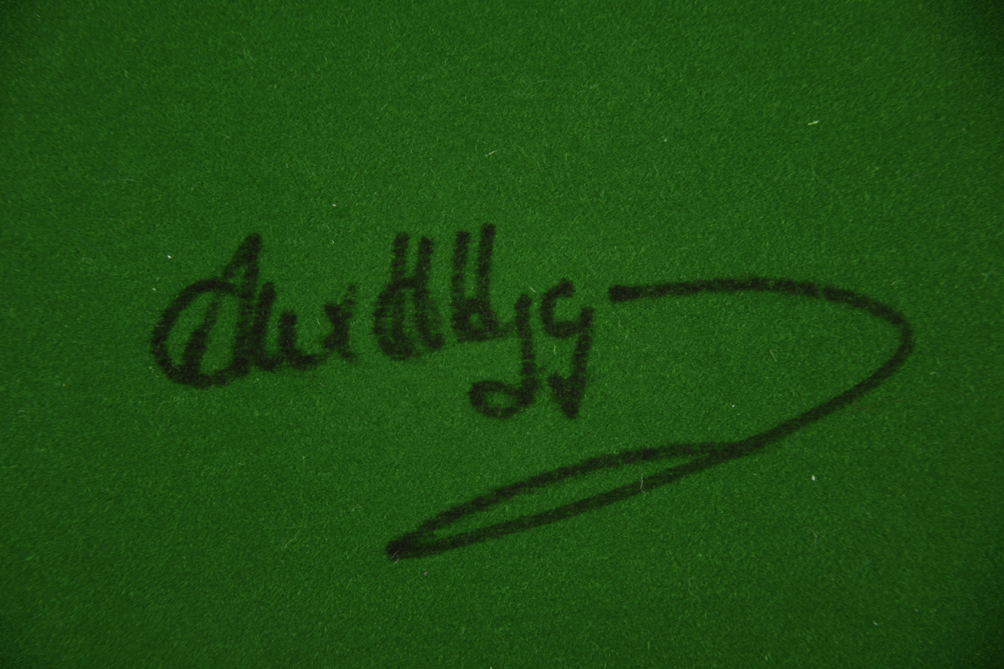 ALEX HIGGINS & JIMMY WHITE Original signatures - Image 3 of 4