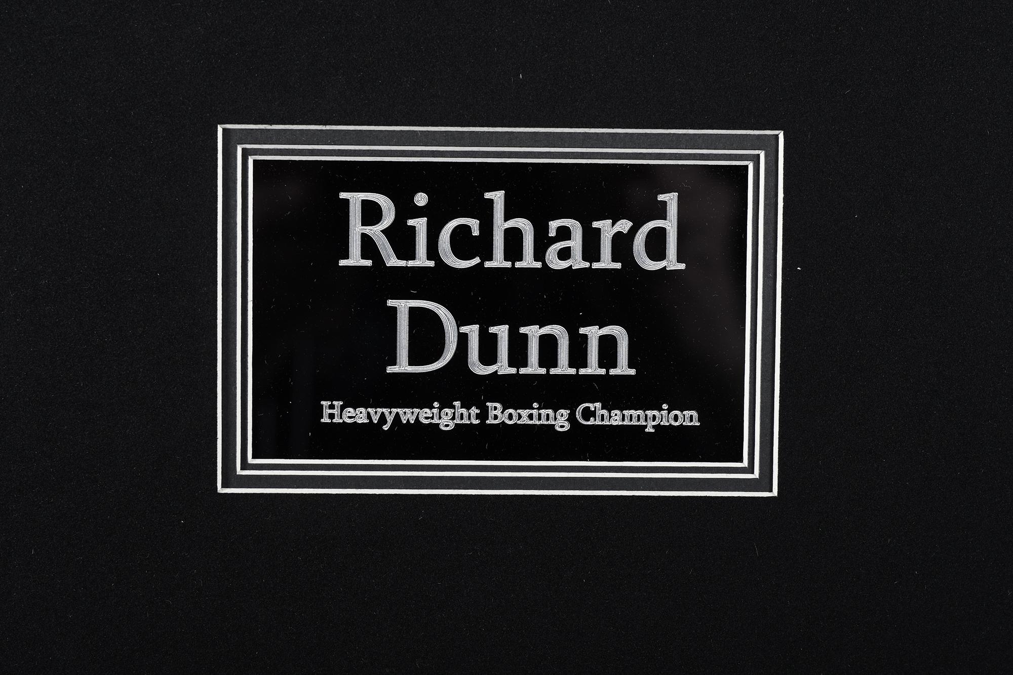 RICHARD DUNN SIGNATURE PRESENTATION - Image 2 of 2